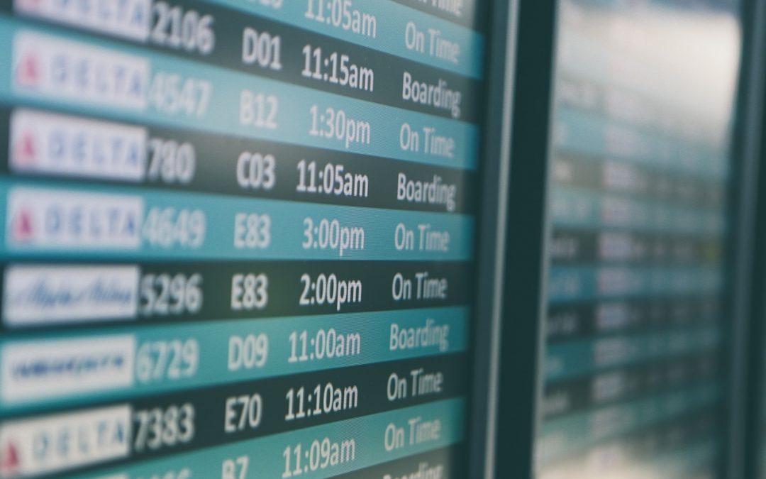 Vol retardé ou annulé… Quels sont vos droits ?