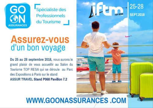 GO ON ASSURANCES AU SALON IFTM TOP RESA 2018