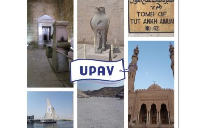 UPAV 2018 : A LA DÉCOUVERTE DE L'EGYPTE